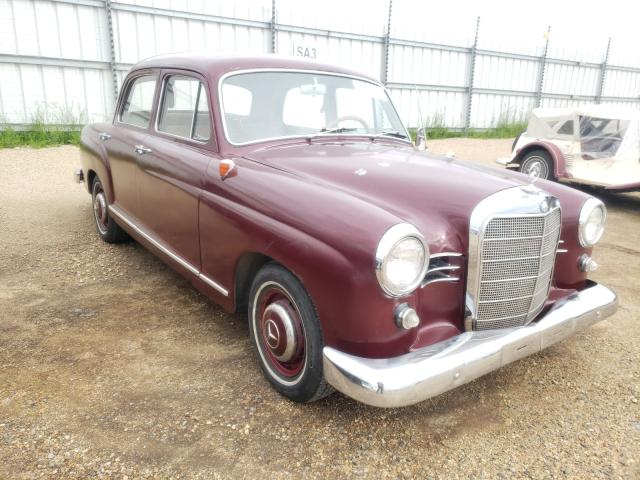 Salvage cars for sale from Copart Nisku, AB: 1954 Mercedes-Benz C180