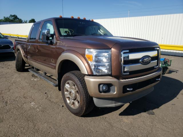 Salvage cars for sale from Copart Pennsburg, PA: 2012 Ford F250 Super