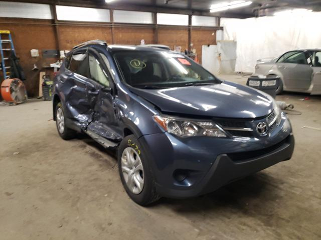 Salvage cars for sale from Copart Ebensburg, PA: 2014 Toyota Rav4 LE