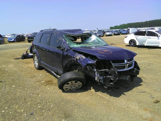 Salvage cars for sale from Copart Longview, TX: 2020 Dodge Journey
