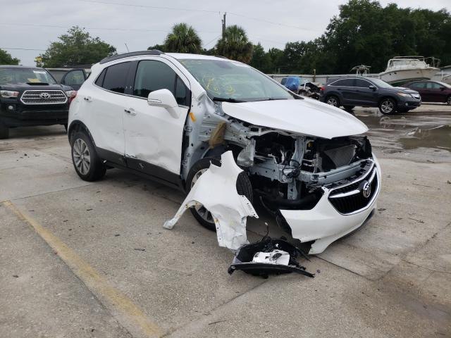 Salvage cars for sale from Copart Punta Gorda, FL: 2019 Buick Encore PRE