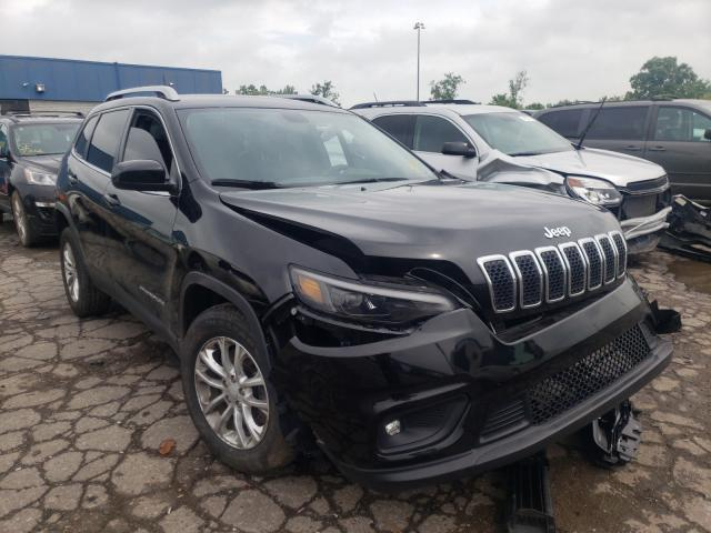 Salvage cars for sale from Copart Woodhaven, MI: 2019 Jeep Cherokee L