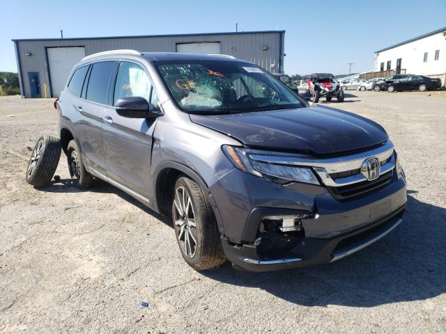 Salvage cars for sale from Copart Chatham, VA: 2020 Honda Pilot Elit