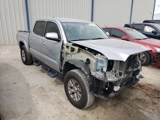 Salvage cars for sale from Copart Apopka, FL: 2017 Toyota Tacoma DOU