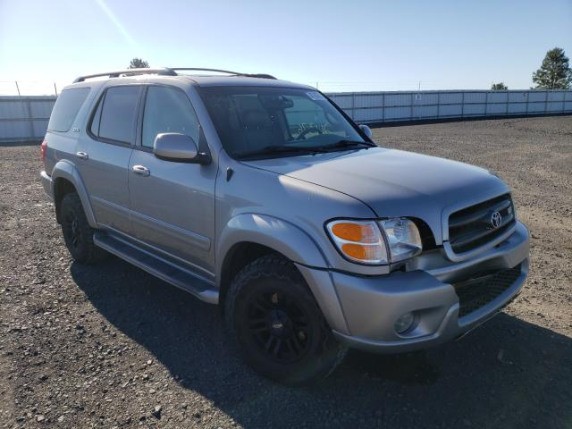 Salvage cars for sale from Copart Airway Heights, WA: 2003 Toyota Sequoia SR