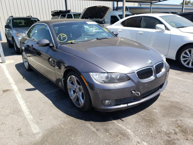 Salvage cars for sale from Copart San Martin, CA: 2007 BMW 335 I