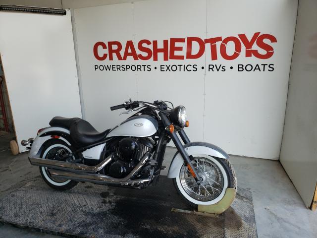 Upcoming salvage motorcycles for sale at auction: 2021 Kawasaki VN900 B