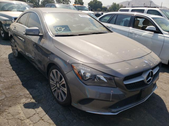 Salvage cars for sale from Copart Colton, CA: 2017 Mercedes-Benz CLA 250