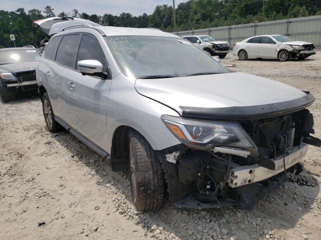 Salvage cars for sale from Copart Ellenwood, GA: 2017 Nissan Pathfinder
