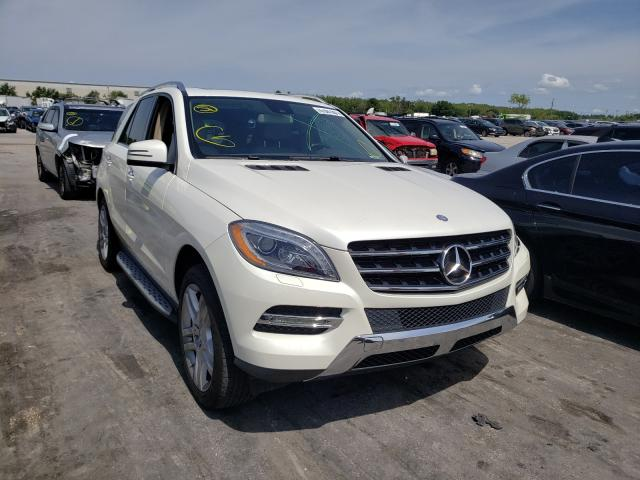 Salvage cars for sale from Copart Orlando, FL: 2013 Mercedes-Benz ML 350 4matic