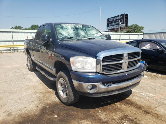 Salvage cars for sale from Copart Wichita, KS: 2007 Dodge RAM 2500 S