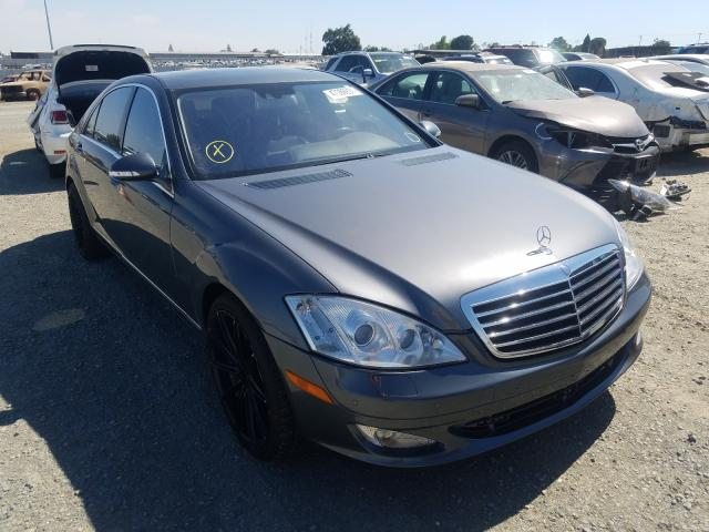 Salvage cars for sale from Copart Antelope, CA: 2007 Mercedes-Benz S 550 4matic