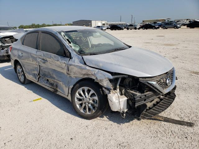 Salvage cars for sale from Copart San Antonio, TX: 2019 Nissan Sentra S