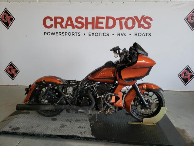 Salvage cars for sale from Copart Sikeston, MO: 2019 Harley-Davidson Fltrxs