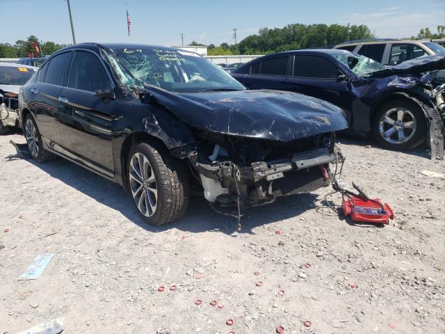 Honda salvage cars for sale: 2015 Honda Accord Sport