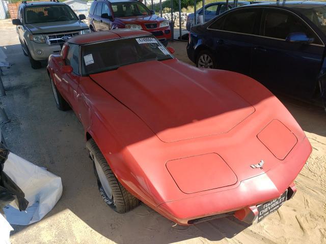Salvage cars for sale from Copart Gaston, SC: 1979 Chevrolet Corvette