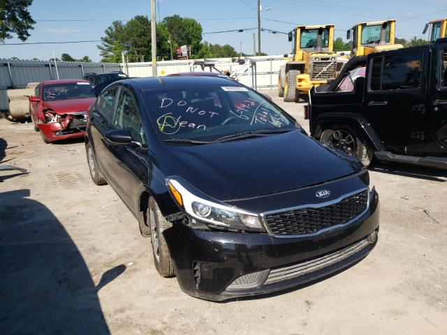 Salvage cars for sale from Copart Montgomery, AL: 2017 KIA Forte LX