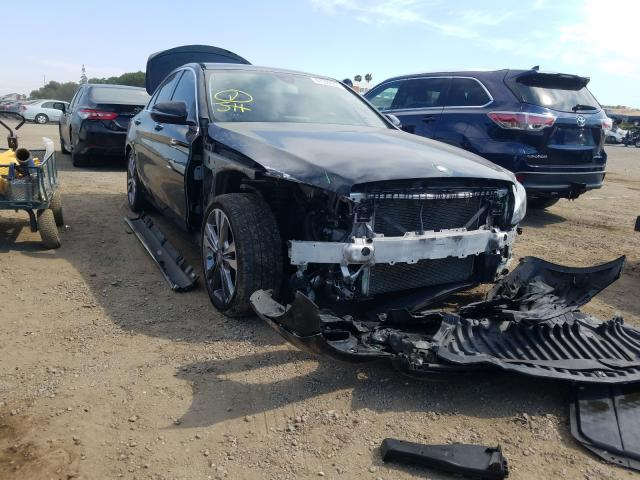 Salvage cars for sale from Copart San Martin, CA: 2016 Mercedes-Benz C300