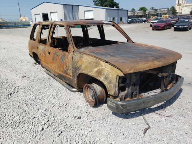 Salvage cars for sale at Tulsa, OK auction: 1997 GMC Yukon