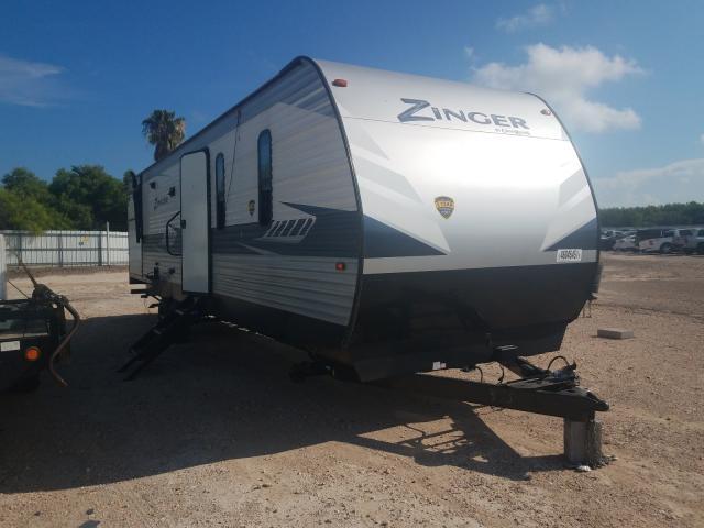 Keystone Zinger salvage cars for sale: 2020 Keystone Zinger