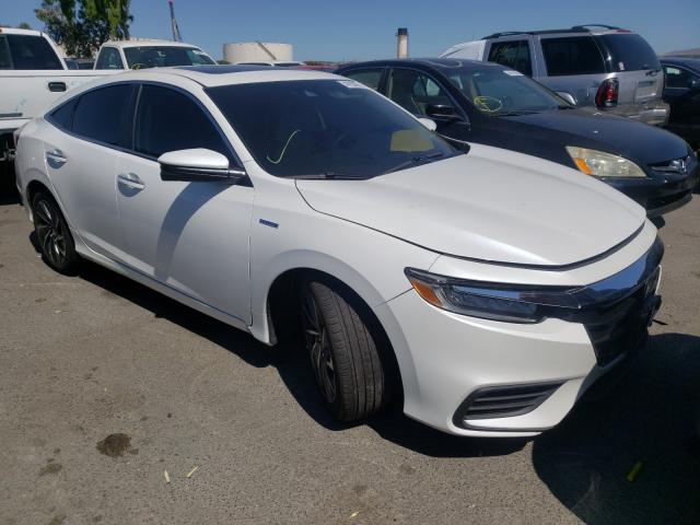 Salvage trucks for sale at Martinez, CA auction: 2019 Honda Insight TO