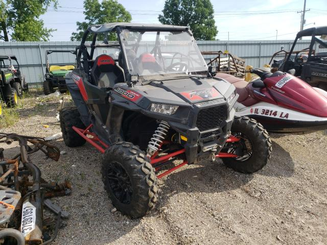 Salvage cars for sale from Copart Pekin, IL: 2017 Polaris RZR XP 100