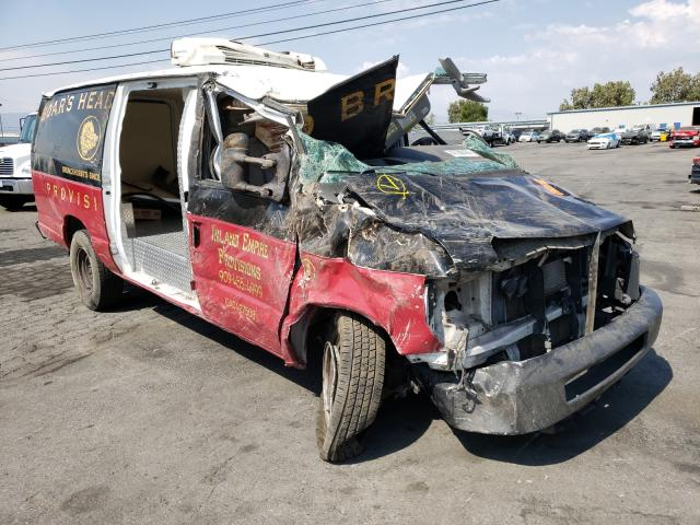Salvage cars for sale from Copart Colton, CA: 2014 Ford Econoline