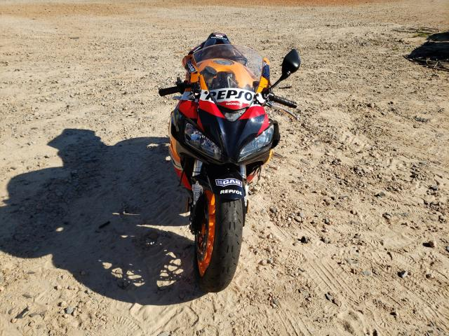 Salvage cars for sale from Copart China Grove, NC: 2007 Honda CBR1000 RR