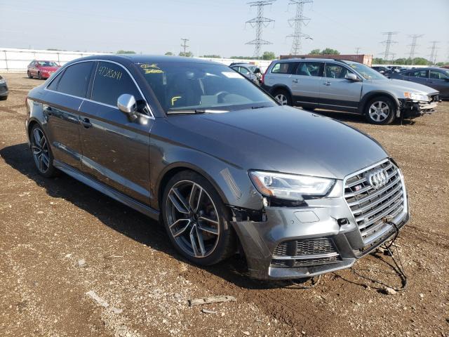 Audi salvage cars for sale: 2017 Audi S3 Premium