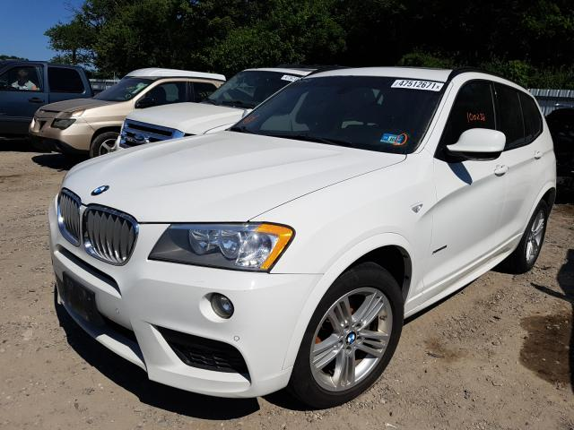 2012 BMW X3 XDRIVE2 5UXWX5C57CL717958