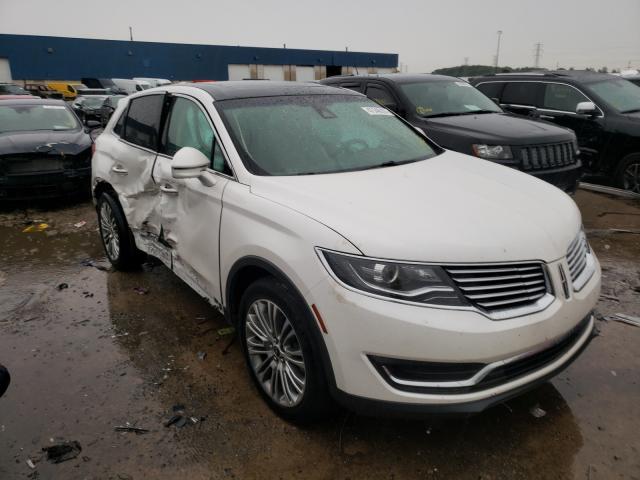 Lincoln Vehiculos salvage en venta: 2018 Lincoln MKX Reserv