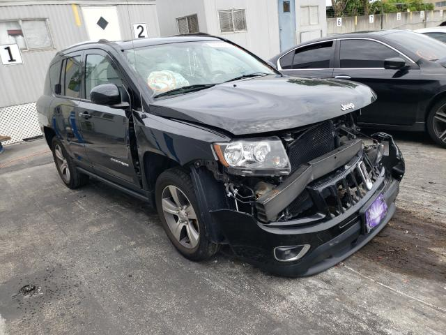 Salvage cars for sale from Copart Opa Locka, FL: 2016 Jeep Compass LA