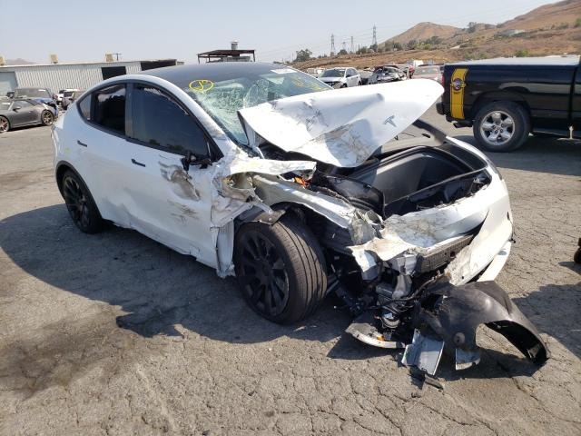 Salvage cars for sale from Copart Colton, CA: 2020 Tesla Model Y