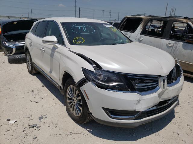 Lincoln Vehiculos salvage en venta: 2016 Lincoln MKX Select
