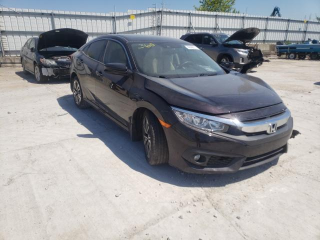 Salvage cars for sale from Copart Walton, KY: 2018 Honda Civic EX