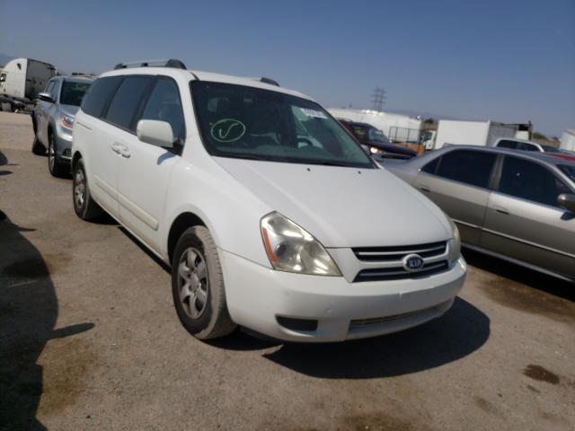 Salvage cars for sale from Copart Tucson, AZ: 2006 KIA Sedona EX