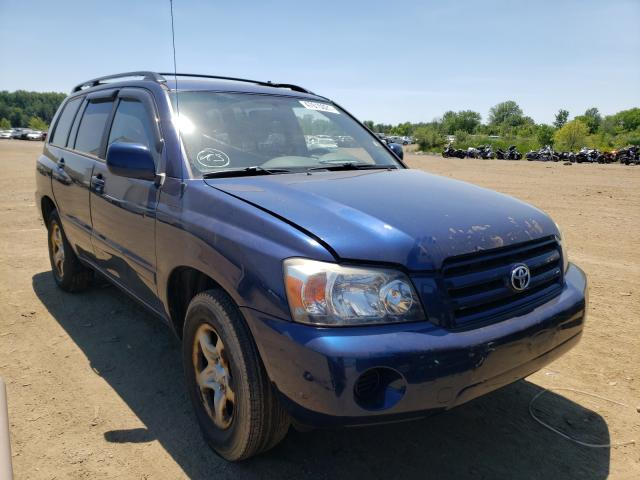 Salvage cars for sale from Copart Columbia Station, OH: 2006 Toyota Highlander