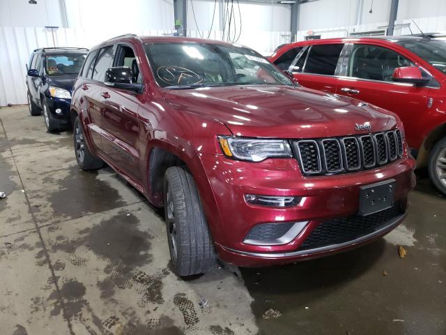 Vehiculos salvage en venta de Copart Ham Lake, MN: 2019 Jeep Grand Cherokee