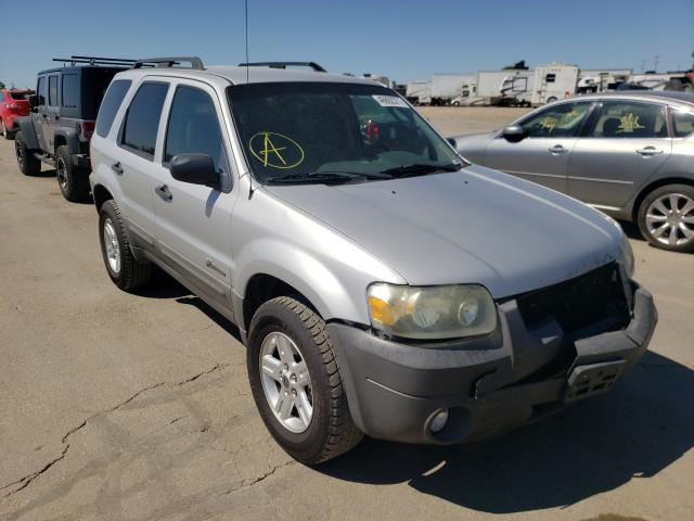 Salvage cars for sale at Nampa, ID auction: 2007 Ford Escape HEV