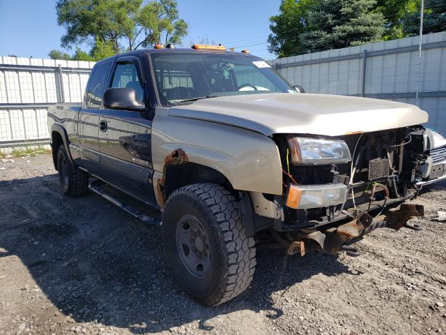 Salvage cars for sale from Copart Albany, NY: 2005 Chevrolet Silverado