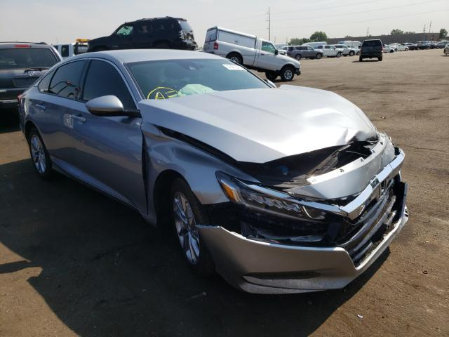 Salvage cars for sale from Copart Denver, CO: 2018 Honda Accord LX