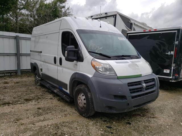 Salvage cars for sale from Copart Riverview, FL: 2014 Dodge RAM Promaster