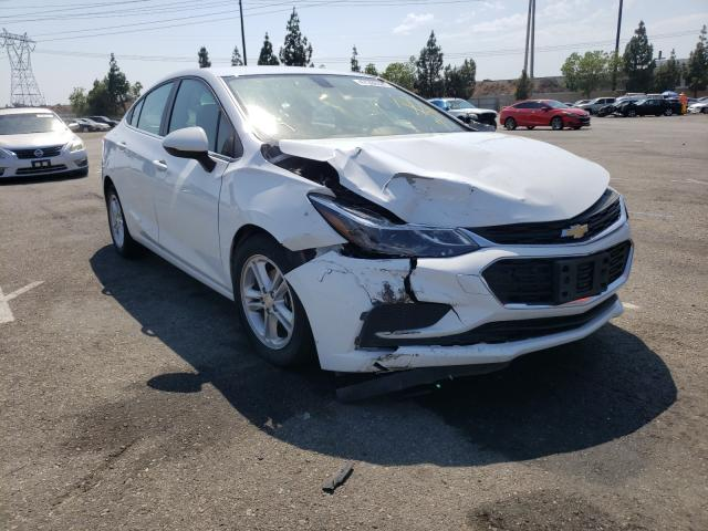 Salvage cars for sale from Copart Rancho Cucamonga, CA: 2018 Chevrolet Cruze LT