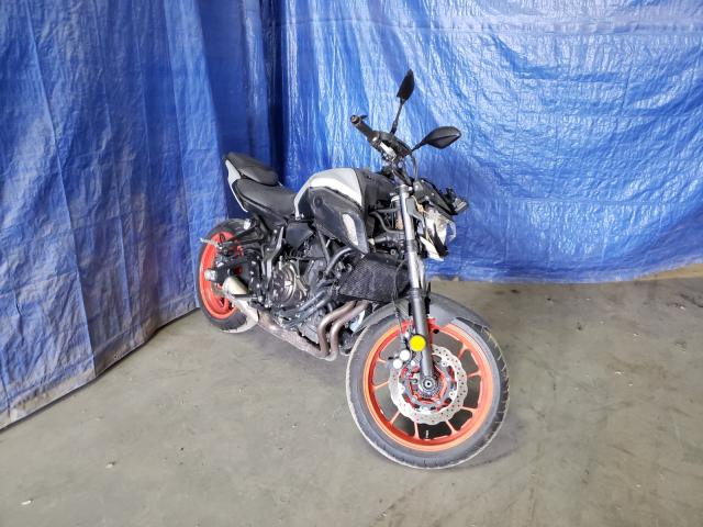 Salvage cars for sale from Copart Finksburg, MD: 2020 Yamaha MT07