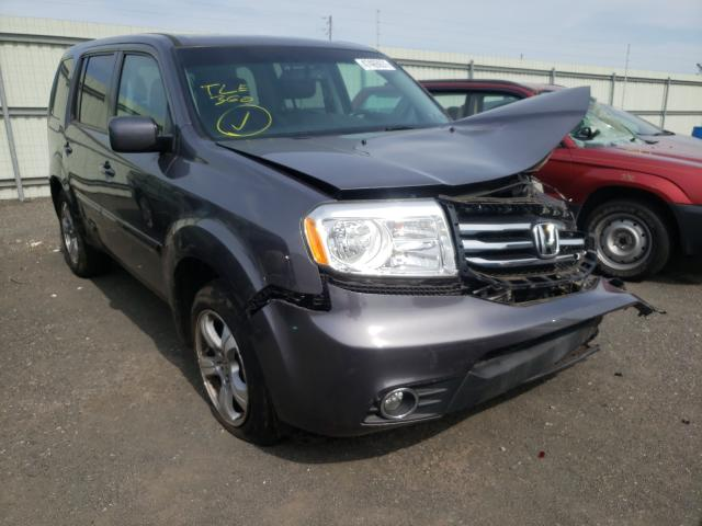 Salvage cars for sale from Copart Pennsburg, PA: 2015 Honda Pilot EXL