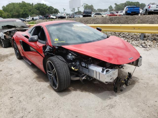 Mclaren Automotive salvage cars for sale: 2018 Mclaren Automotive 570S