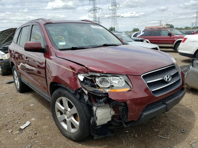 Hyundai Santa FE salvage cars for sale: 2009 Hyundai Santa FE