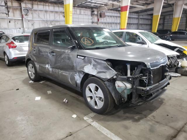 KIA Soul salvage cars for sale: 2016 KIA Soul