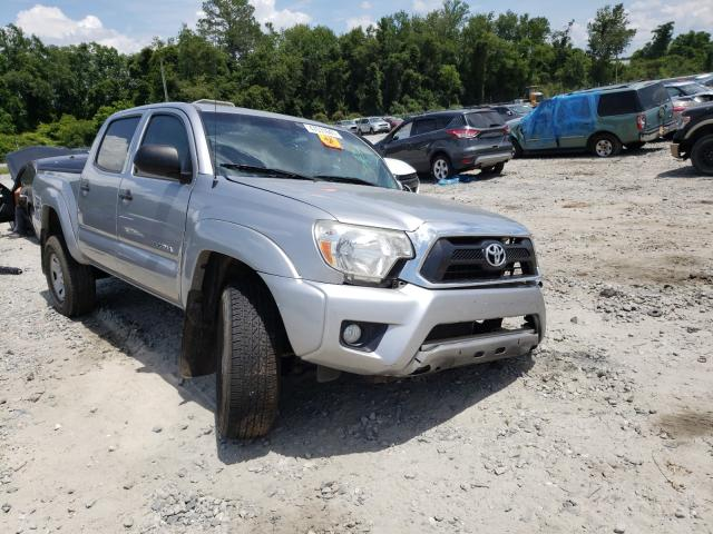 Salvage cars for sale from Copart Tifton, GA: 2015 Toyota Tacoma DOU