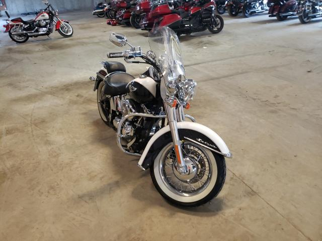 Salvage motorcycles for sale at Candia, NH auction: 2006 Harley-Davidson Flstni